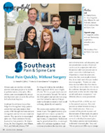 Southeast Pain & Spine Care Featured in Hickory Living Magazine