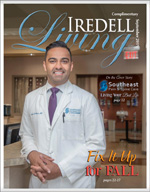 Dr. Manvar in Iredell Living Magazine