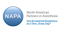 North American Partners in Anesthesia (NAPA) Acquires American Anesthesiology From MEDNAX, Inc.